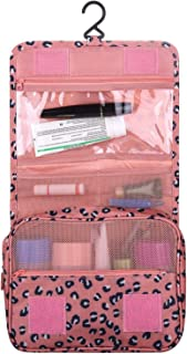 OZSTOCK® MakeUp Bag Travel Cosmetic Storage Hanging Organizer Folding Pouch Toiletry (Pink)