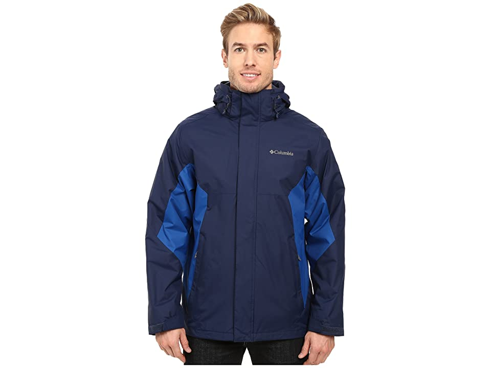 Columbia Eager Air Interchange Jacket (Collegiate Navy/Marine Blue) Men