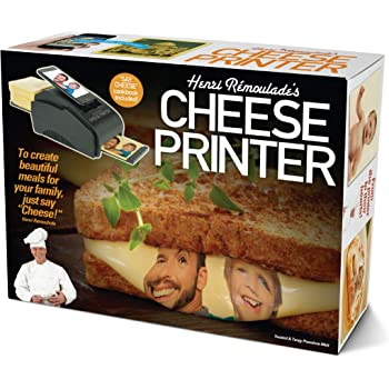 """Prank Pack """"Cheese Printer"""" - Wrap Your Real Gift in a Prank Funny Gag Joke Gift Box - by Prank-O - The Original Prank Gift Box 