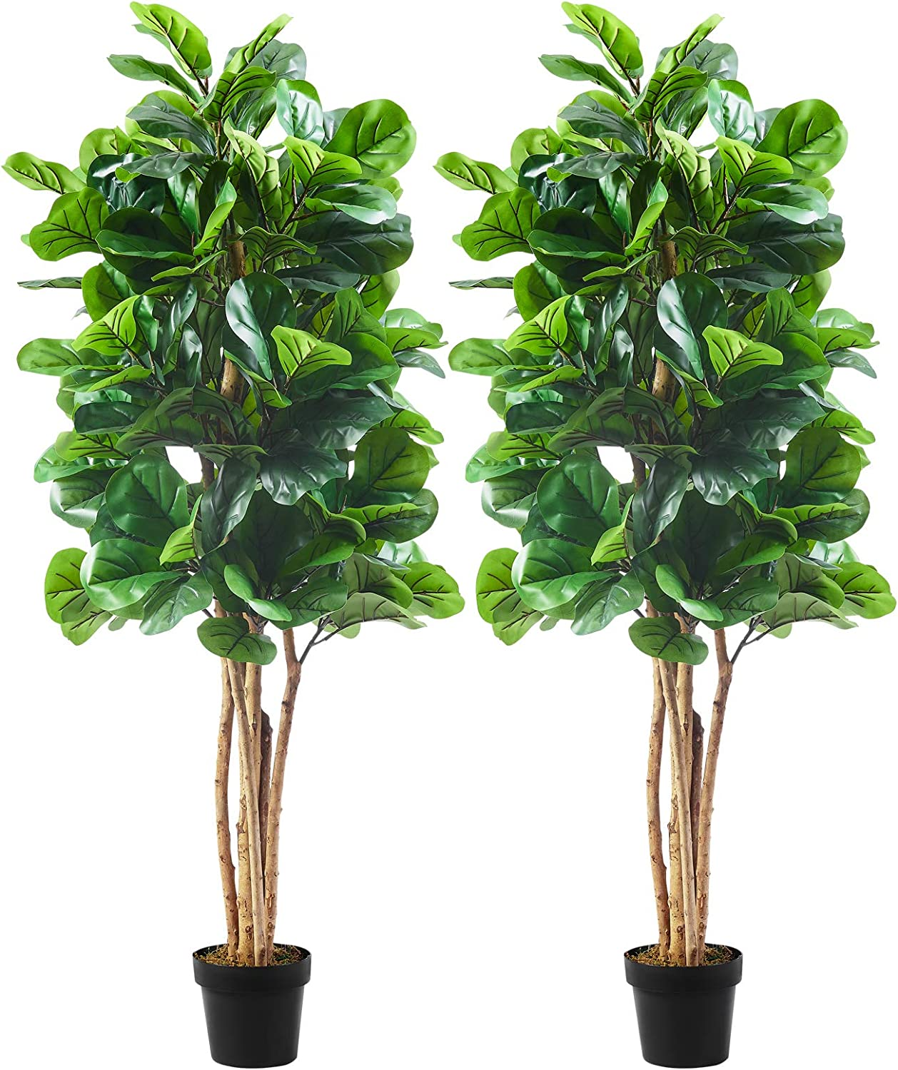 Cozy Castle Artificial Fiddle Leaf Fig Tree Challenge the lowest price Nippon regular agency