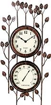 Best metal garden wall clocks Reviews