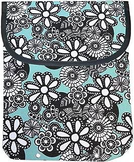 ClarUSA Heavy Duty Canvas Clothespin Bag (Daisy)