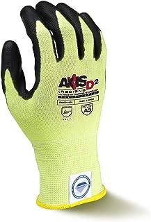 Radians RWGD100M Axis D2 Cut Protection Level A3 Touchscreen Glove With Dyneema Diamond Technology (Each), Medium