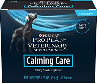 Purina Pro Plan Veterinary Supplements Calming Care Canine Formula Dog Supplements - 45 Ct Box