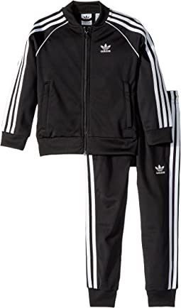 adidas Originals Kids - Superstar 3-Stripes Tracksuit (Toddler/Big Kids)