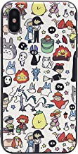 iPhone Xs Max Case, MC Fashion Cute Cartoon My Neighbor Totoro 3D Print Matte Case, [Full Cover] Protective Soft Slim TPU Case Skin for Apple iPhone Xs Max (6.5-Inch) (#2)