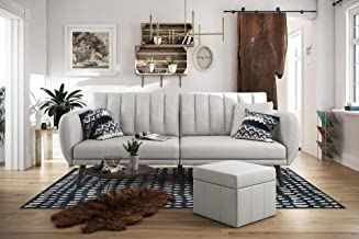 white pull out couch