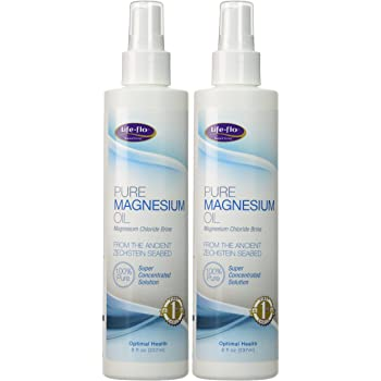 Life-Flo Health Care Pure Magnesium Oil, 2 Count, 8 oz
