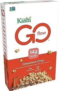 Kashi GO Cinnamon Crisp Breakfast Cereal - Non-GMO | Vegan | 14 Oz Box