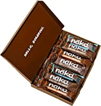 Nākd Bars, Bestseller Choco-Lover Raw Fruit and Nuts, Gluten Free, Count of 15