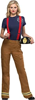 Womens Fire Captain Plus Size Costume Sizes 1X-4X