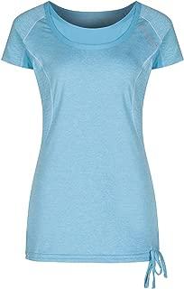 Regatta Womens RWS083 6QM20L Jenna II Shirts Neon Peach Size 20