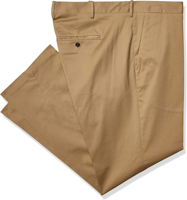 Perry Ellis Men's Big & Tall Slim Fit Stretch Tech Chino Pant