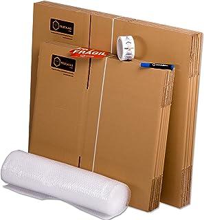 TELECAJAS® | Pack Mudanza (Cajas de cartón, plástico