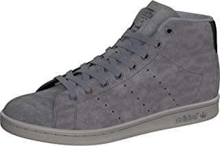 stan smith mid shoes grey