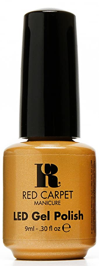 スロー背骨優先Red Carpet Manicure - LED Nail Gel Polish - Award Winning - 0.3oz / 9ml