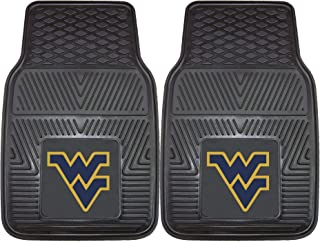 FANMATS NCAA West Virginia University Mountaineers Vinyl Heavy Duty Car Mat