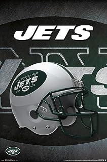"Trends International New York Jets Helmet Wall Poster 22.375"" x 34"""