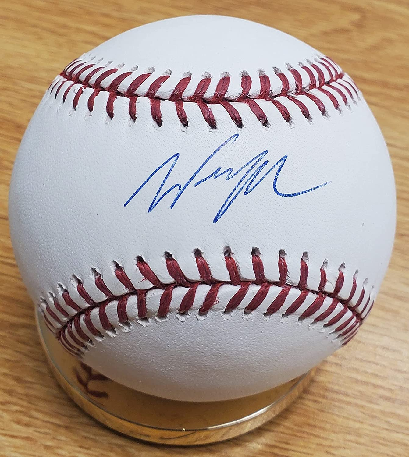 Ranking TOP4 Wil Myers Autographed Official Major League Baseball Overseas parallel import regular item