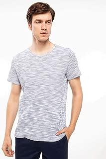 DeFacto Erkek Tişört Çizgili T-shirt