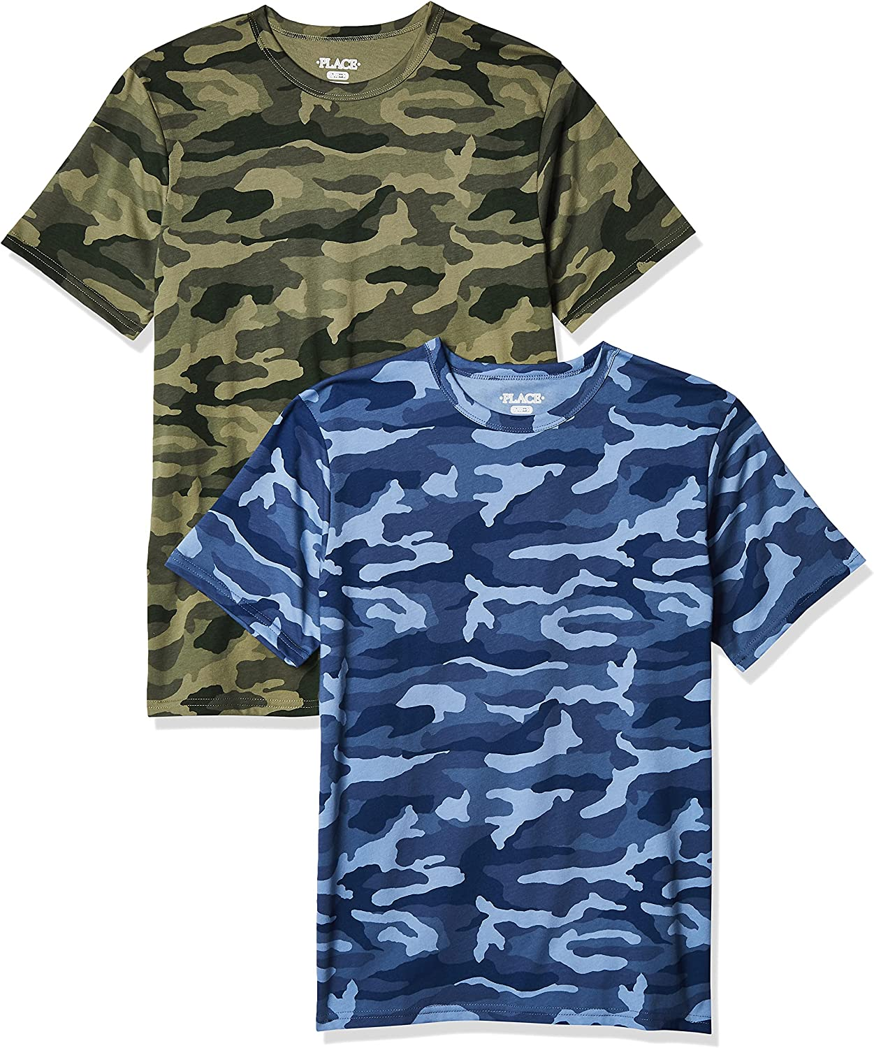The Children's Place Boys Camo Top 2-Pack