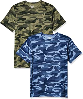 The Children's Place boys Short Sleeve Camo Print T-Shirts, Pack of Two T-Shirt