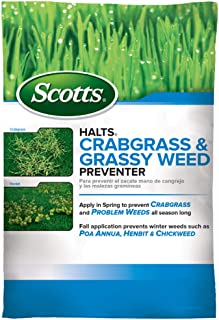 Scotts Halts Crabgrass & Grassy Weed Preventer – Crabgrass Preventer, Pre..
