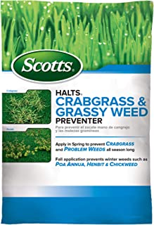 Scotts Halts Crabgrass & Grassy Weed Preventer, 5,000 sq....