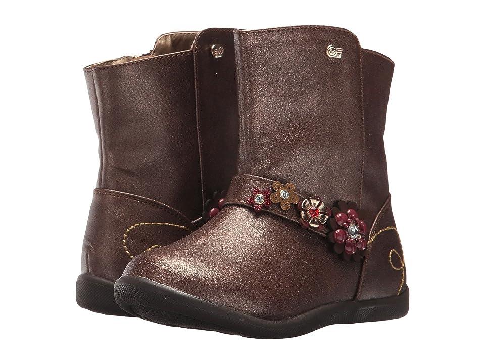 Naturino Express Victoria (Toddler/Little Kid) (Bronze) Girls Shoes