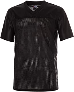 Men's Replica Plain Football Jersey, V-Neck Football Shirt in Adult Sizes S-3XL