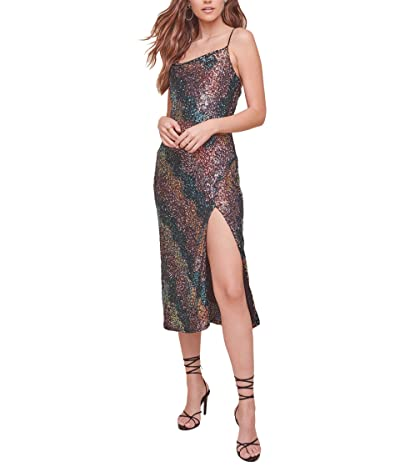 ASTR the Label Magic Moment Dress (Sequin Sunset) Women