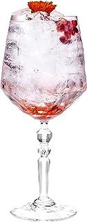cl20 Trasparente 8 x 20 x 8 CM Bormioli Rocco Set 6 Calici in Vetro America20 Cocktail