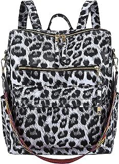 FANDARE Damen Rucksack Mode Schultertasche Wasserdicht Daypacks Umhängetasche für Einkaufen Arbeit Dating Freizeit Party R...