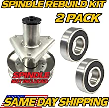 HD Switch (2 Pack) John Deere AM128048 Spindle Rebuild Kit Bearings 38