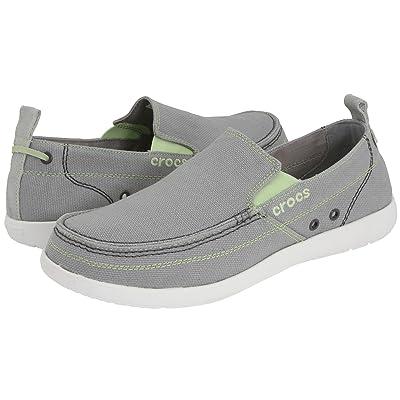 Crocs Walu (Light Grey/White) Men