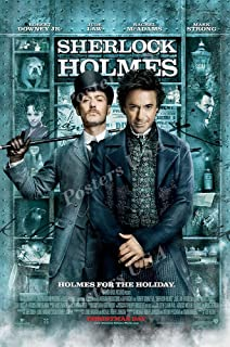 The Adventures of Sherlock Holmes Movie Poster Canvas Picture Art Print A0-A4