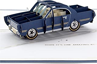 Hallmark Signature Paper Wonder Pop Up Birthday Card (Classic Car, Amazing Ride)