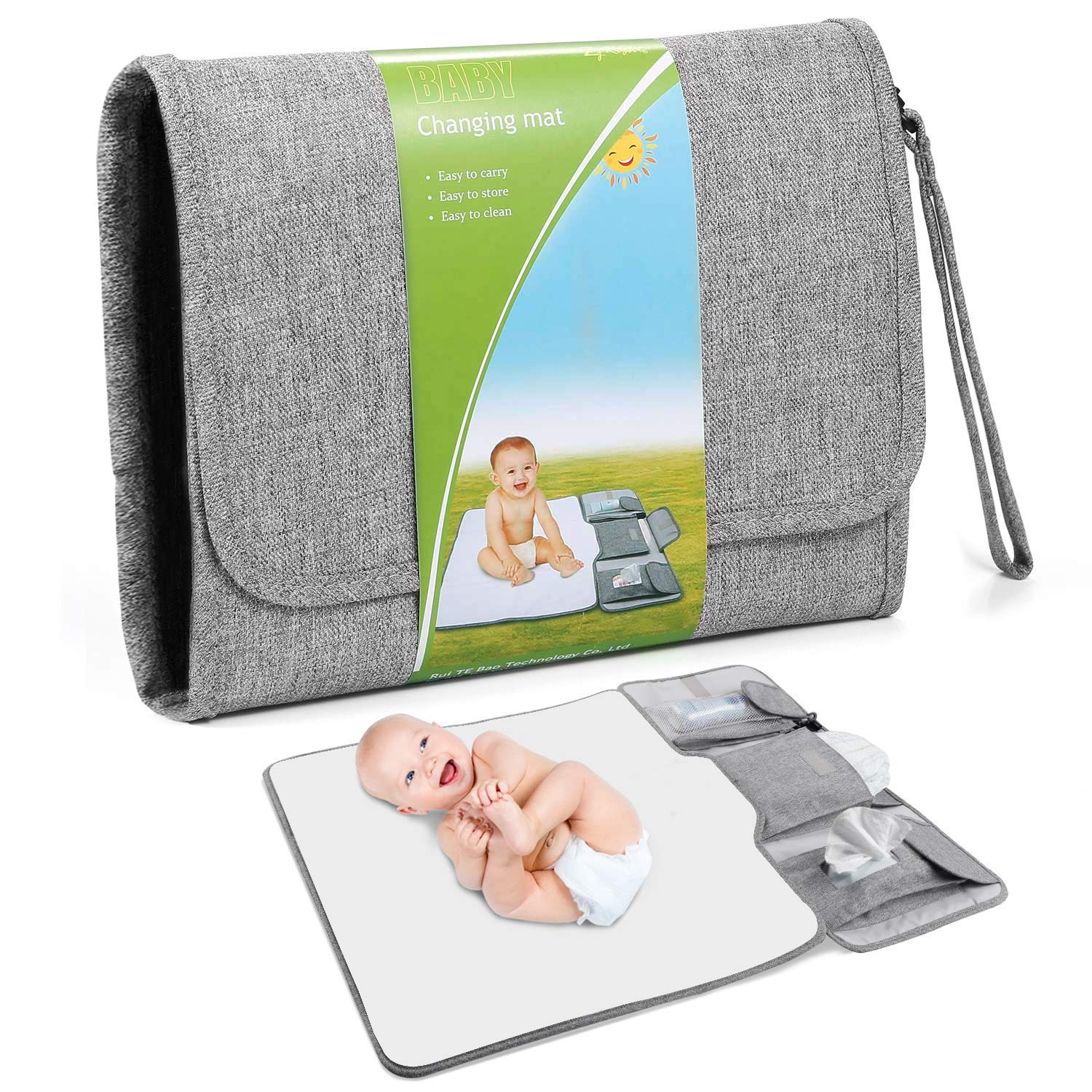 Sale Portable Denver Mall Diaper Changing Pad Detachable Large Baby Size