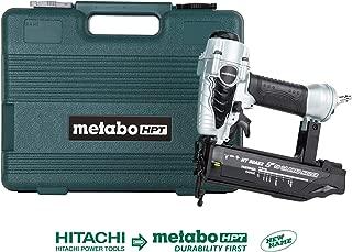Metabo HPT NT50AE2 Pneumatic Brad Nailer, 5/8-Inch up to 2-Inch Brad Nails, 18 Gauge,..