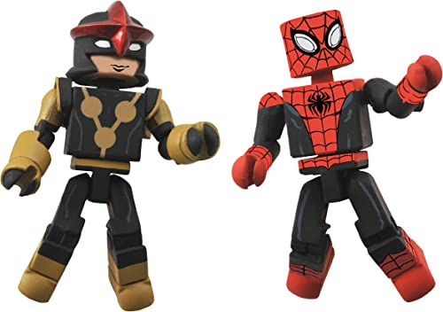 Diamond Select Toys Marvel Minimates Series 51 Marvel Now Spider-Man and Nova (Sam Alexander) Action Figure by Diamond Select