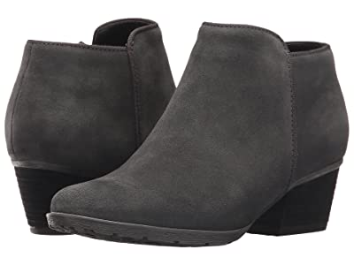 Blondo Villa Waterproof Bootie (Dark Grey Suede) Women