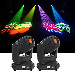 (2) Chauvet DJ Intimidator Spot 375Z IRC 150w LED Moving Head Lights w/ Zoom