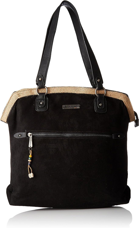 Les Tropéziennes Gul01, Women's Shoulder Bag, black (Black), 16x38x36 cm (W x H L)