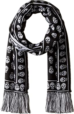 Upside Down Skulls Scarf