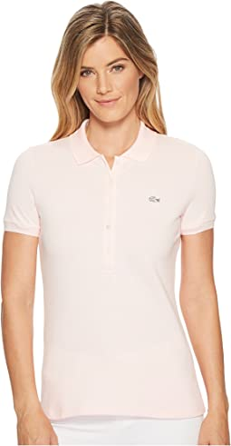 Lacoste - Short Sleeve Slim Fit Stretch Pique Polo Shirt