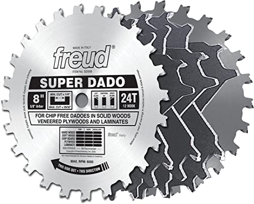 Freud 8 In. Super Stacked Dado (SD508)