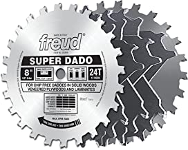 "Freud 8"" x 24T Super Dado Sets (SD508)"
