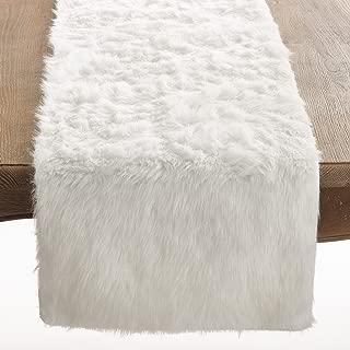 Best white snow table runner Reviews