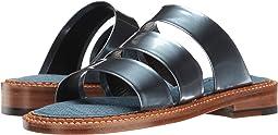 Ocean Metallic Patent Leather