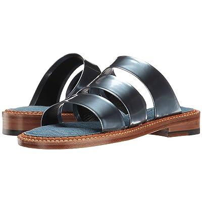 Clergerie Blur (Ocean Metallic Patent Leather) Women